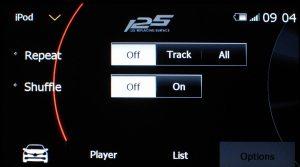 メディア - iPod - Option (言語設定:English) |